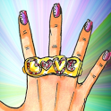 Fashion Style Nails icon