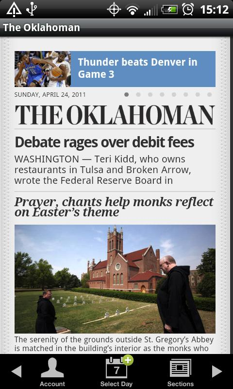 The Oklahoman- screenshot