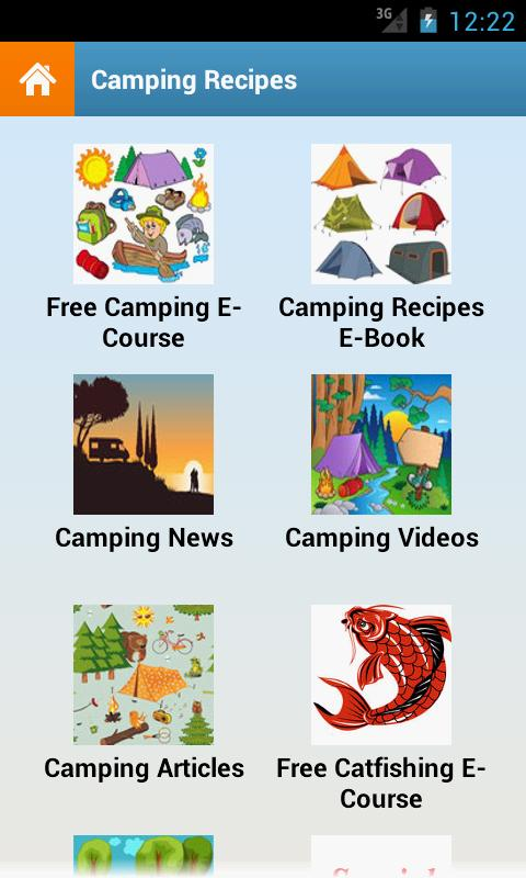Camping Recipes! - screenshot