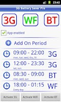 Screenshot of 3G Battery Saver + WiFi BT