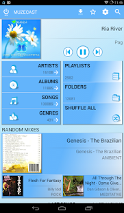 Muzecast Music Streamer/Player Pro- screenshot thumbnail