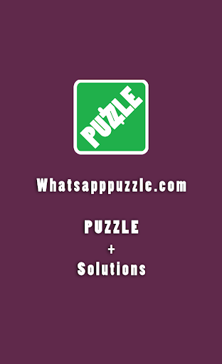 Puzzle - Solution