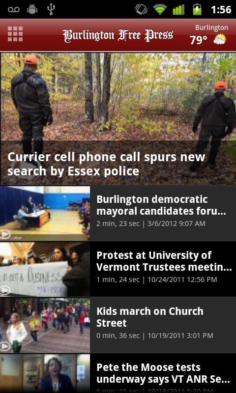 Burlington Free Press - screenshot