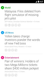 Yahoo News Digest - screenshot thumbnail