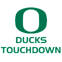 Oregon Ducks Touchdown Foghorn logo