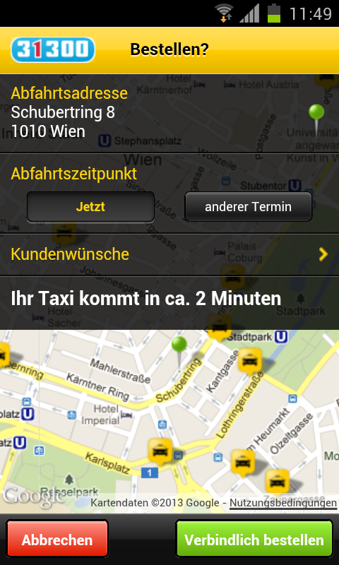 Taxi 31300 - screenshot