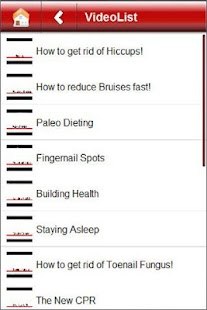 The Health Fixer: Video Tips - screenshot thumbnail