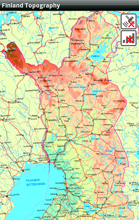 Finland Topography Lite Android Apps On Google Play - Google topographic maps online