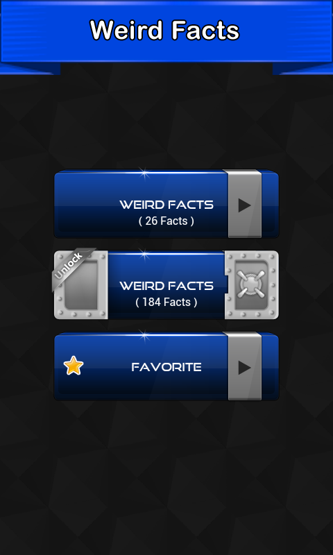 Weird Facts- screenshot