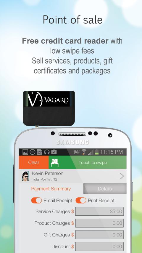 Vagaro Pro - screenshot