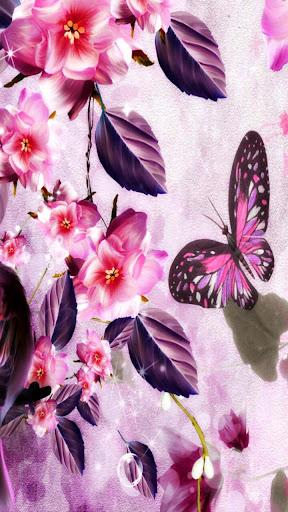 Butterfly Love Live Wallpaper