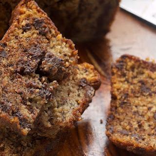 Chocolate Chunk Banana Bread Recipe