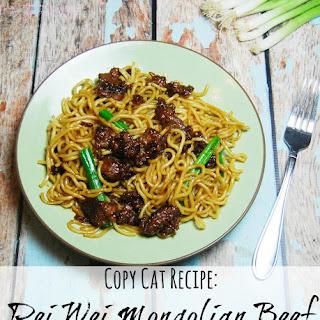 Copy Cat Pei Wei Mongolian Beef