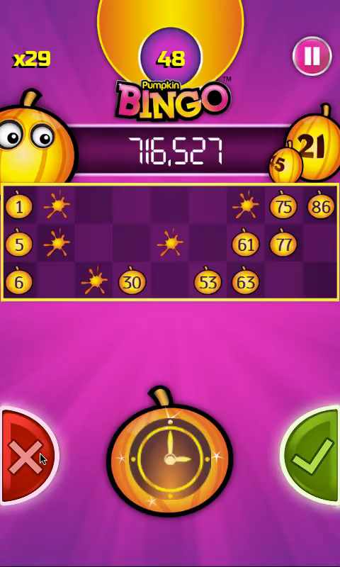 Pumpkin Bingo: FREE BINGO GAME - screenshot