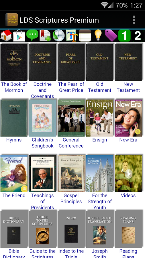 LDS Scriptures Premium - screenshot