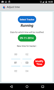 Simple Time Tracker FREE screenshot 3