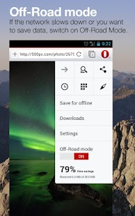 Opera browser beta - screenshot thumbnail