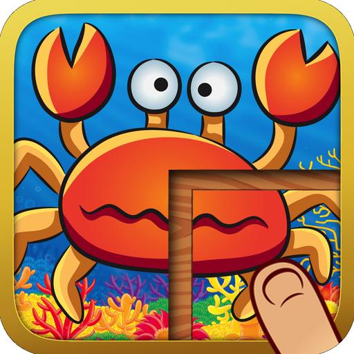 Cute Animal Puzzles for Kids 休閒 App LOGO-硬是要APP