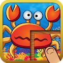 Cute Animal Puzzles for Kids icon