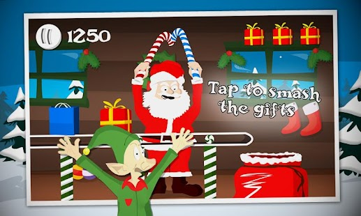 Crazy Santa: Xmas Gift Smasher- screenshot thumbnail