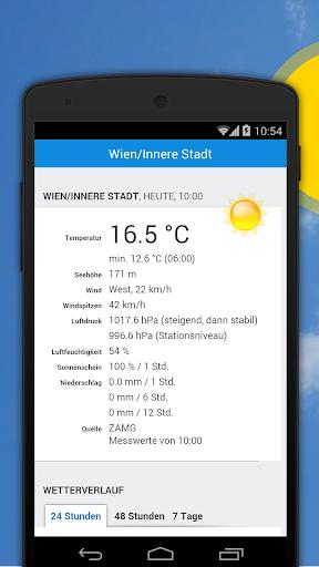 bergfex/Weather App - Forcast Radar Rain & Webcams  screenshots 7