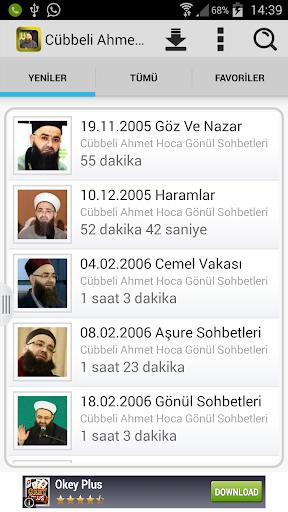 Cübbeli Ahmet Hoca Sohbetler
