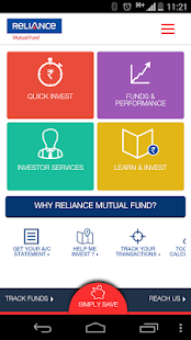 Reliance MutualFund- screenshot thumbnail