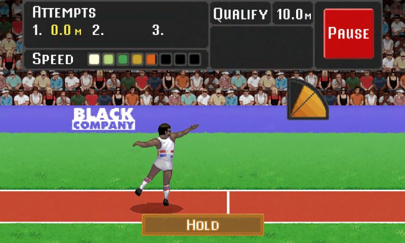 Daley Thompson's Decathlon- screenshot