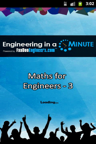 Maths for Engineers - 3 1