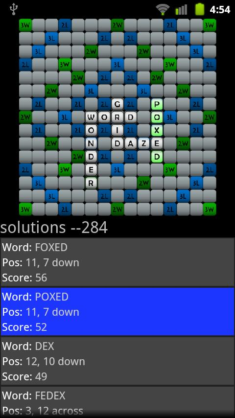 Word Grid Solver- screenshot