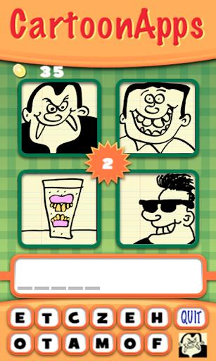 【免費教育App】4 Cartoons - 1 Word-APP點子