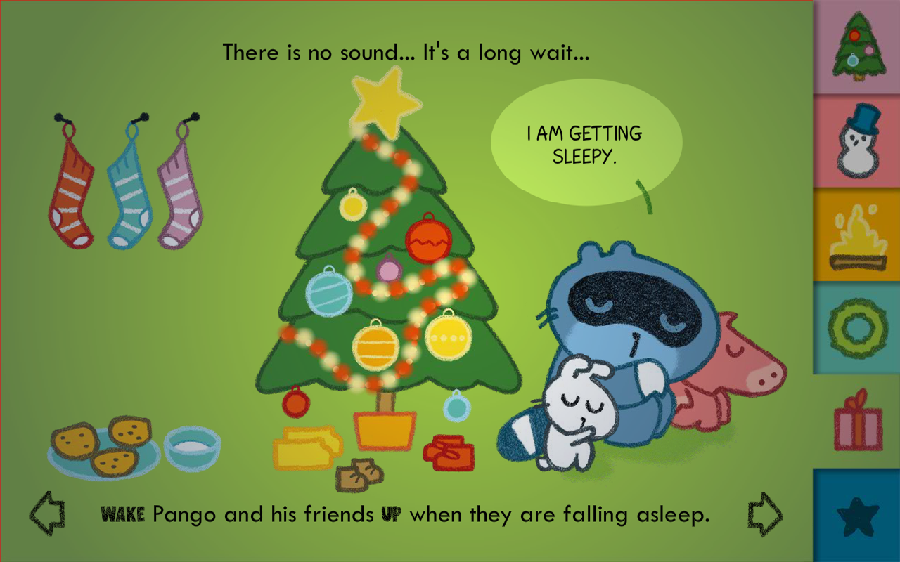 Pango Christmas - screenshot