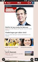 Screenshot of Di läsplatta