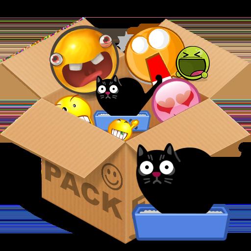 Emoticons pack, Cats HQ 程式庫與試用程式 App LOGO-硬是要APP