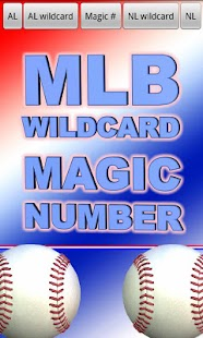 MLB Wildcard Magic Number - screenshot thumbnail