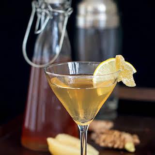 Spiced Pear Martini.