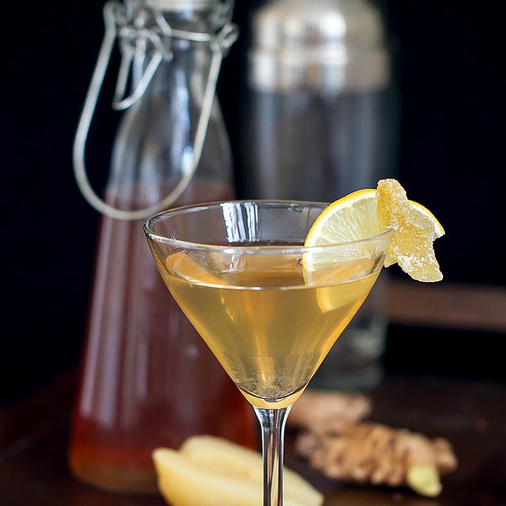 Spiced Pear Martini Recipe