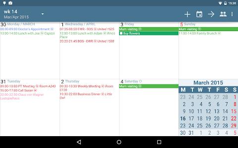 aCalendar+ Calendar & Tasks v1.3.2
