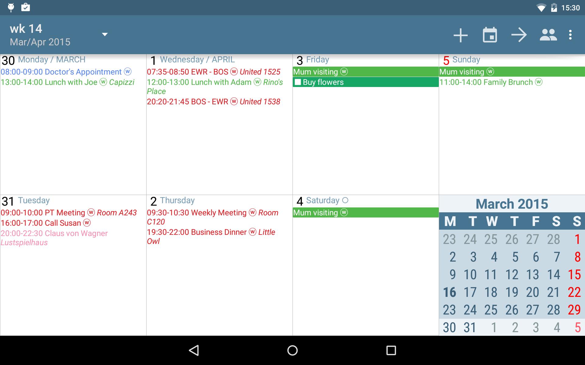 aCalendar+ Calendar & Tasks screenshot #13