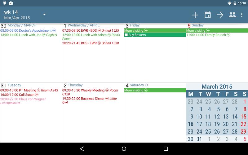 aCalendar+ Calendar & Tasks Screenshot 11