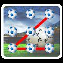 Football pattern Screen Lock icon