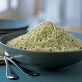 Cappellini with Lemon, Garlic and Parsley Recipe