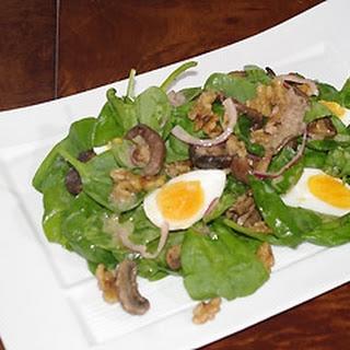 Tandoori Mushroom Salad