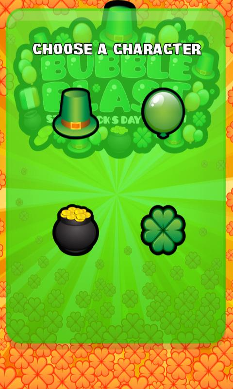 Bubble Blast St Patrick's Day- screenshot