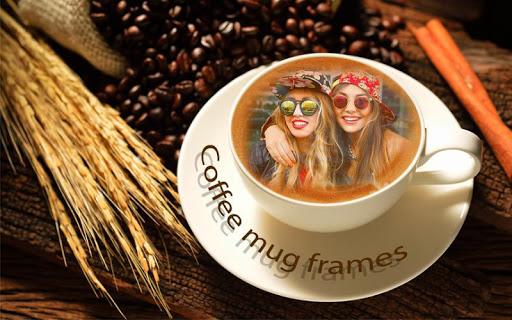 Coffee Mug Rich Photo Frames