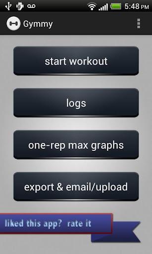 Gymmy Workout Log LITE