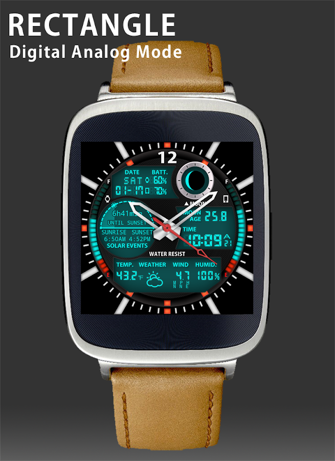 A47 WatchFace for Android Wear- screenshot
