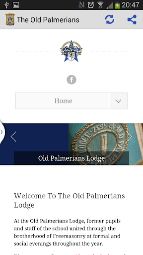 The Old Palmerians Lodge