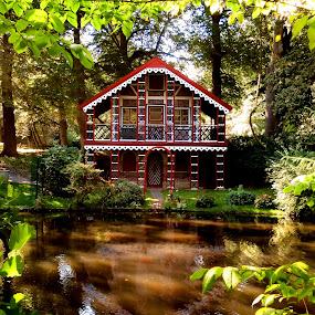 Ritzebüttel Park by Morgentau ;) - City,  Street & Park  City Parks ( park, green, garden, river,  )