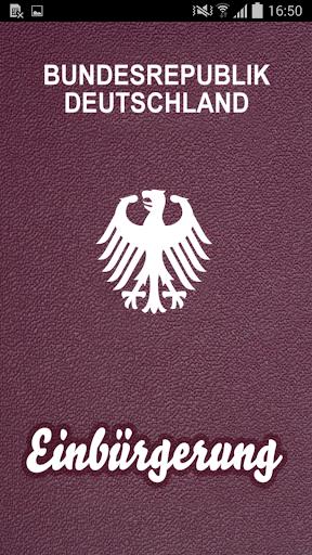 Einbürgerungstest - die App